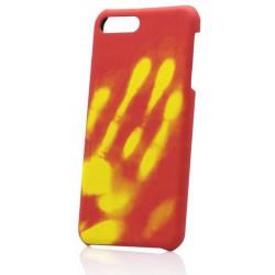 Termochromické puzdro iPhone 7, červené
