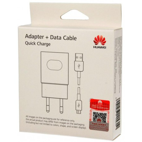 Huawei fast charge 9V/5V 2A white + cable