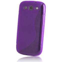 S prípad zadný kryt pre HTC One Max fialové