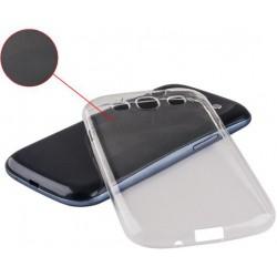 Ultra Slim 0,5 mm TPU púzdro pre Xperia M2 SON práporom