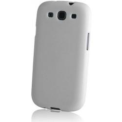 TPU prípad HTC One M8 White