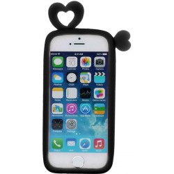 Universal bumper L (10cm) Hearts black
