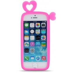 Universal bumper L (10cm) Hearts pink