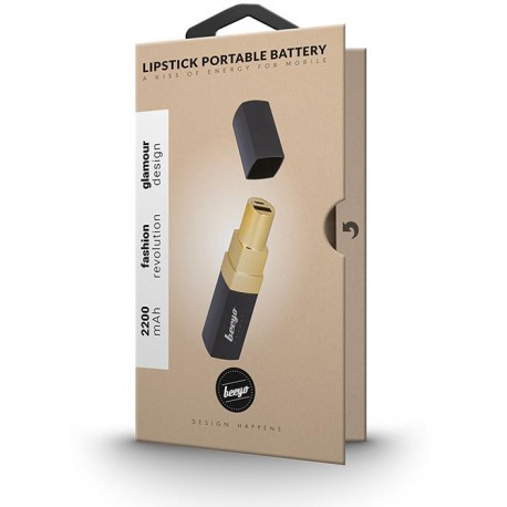 Beeyo Lipstick Portable Battery 2200mAh