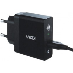 ANKER wall charger QC 3.0 A2013 black
