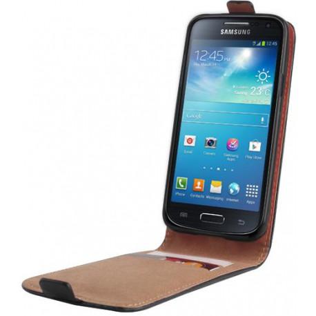 Leather case PLUS New SON Xperia X Compact black
