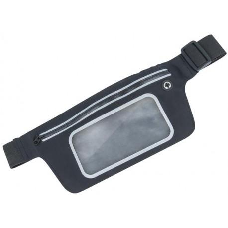 Super Fit Waist Case with window black