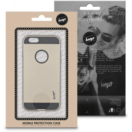 Beeyo Armor case for Sam J3 2017 J3110 gold
