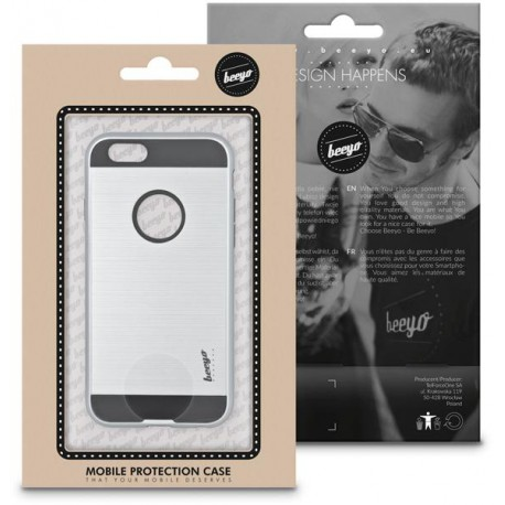 Beeyo Armor case for LG K4 2017 silver