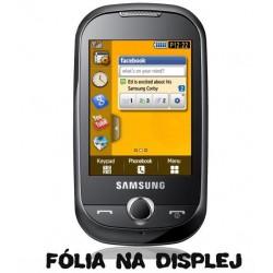 Akcia - ochranná fólia na displej Samsung S3650 Corby - 1ks