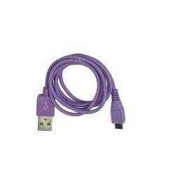 datový kábel s micro USB koncovkou - fialový