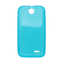 Gumené puzdro HTC Desire 310, svetlomodré