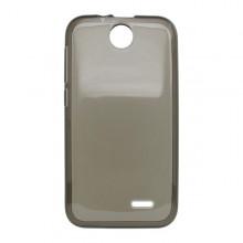 Gumené puzdro HTC Desire 310, čierne