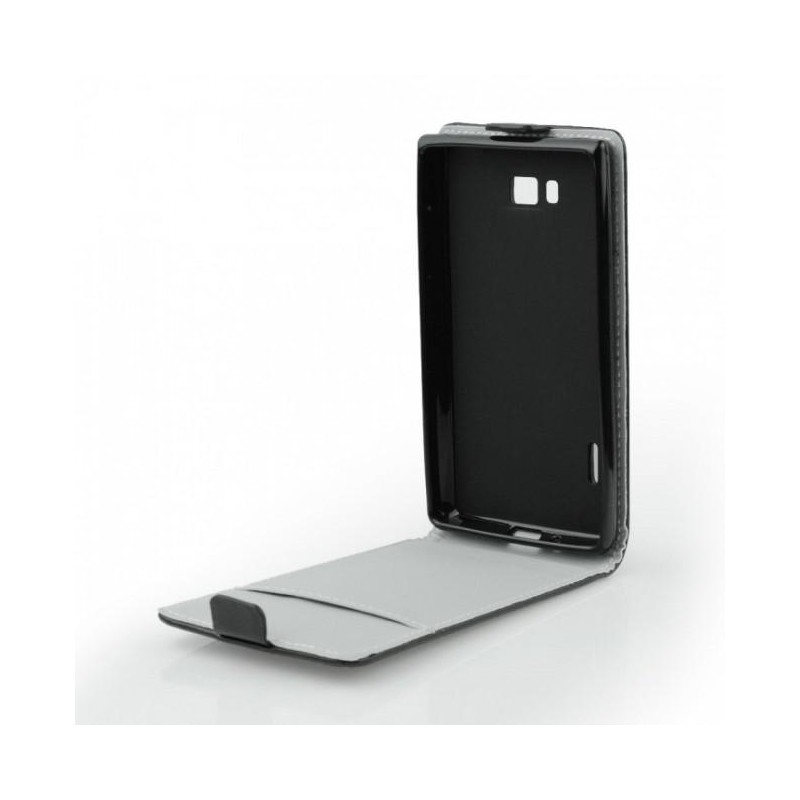 Flexi diár flip púzdro na Apple iPhone 6 Plus 5.5 - čierne cc8965ab3c1