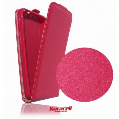Flexi flip púzdro na Apple iPhone SE - červené 22f787f411f