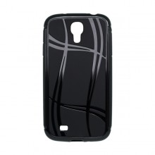 Puzdro Well Lines Samsung Galaxy S4, čierne