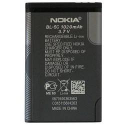 original batéria BL-5C na Nokia 3100, 3650, Asha 202,203,205, C1-XXX, C2-XXX - Li-ion 1020 mAh