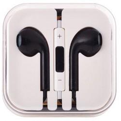 stereo HF štuplíkový, s ovládaním hlasu s 3.5 jack - čierny