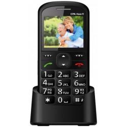 Telefon SENIOR - CPA HALO 11 - čierny