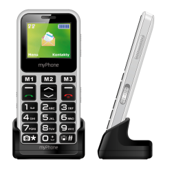 Telefon SENIOR - MYPHONE HALO MINI - biely