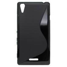 Puzdro S-line Sony Xperia T3, čierne