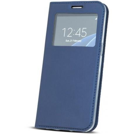 Case Smart Look for Xiaomi Redmi Note 4 dark blue