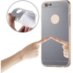 Mirror TPU Case for Xiaomi Redmi Note 4 silver