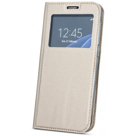 Case Smart Look for Sam S8 Plus gold