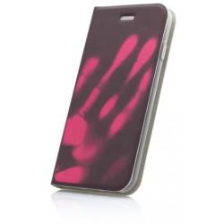 Termochromické knižkové puzdro Huawei P9 Lite 2017, ružové