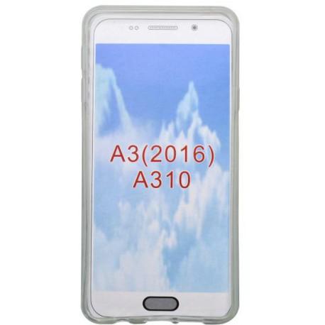 Vzorované gumené puzdro Samsung Galaxy A3 2016, vzor Never stop dreaming