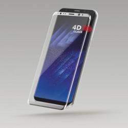 Sturdo 4D ochranné sklo Samsung Galaxy S8 Plus, strieborné