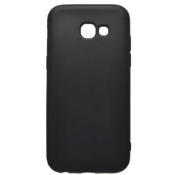 Gumený kryt Samsung Galaxy A5 2017, čierne, matné
