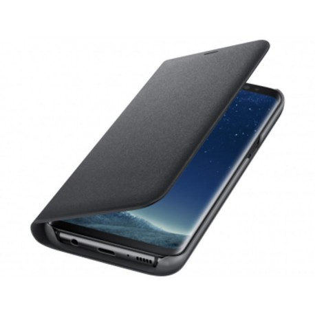 SAMSUNG LED View Cover EF-NG955PB for Galaxy S8+ LED Viev Cover Black