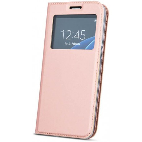 Case Smart Look for Sam S8 Plus rose gold