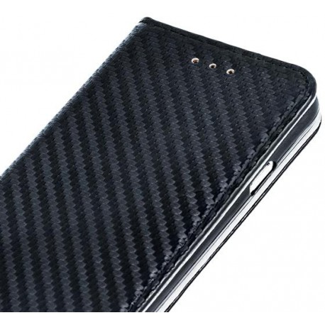 Case Smart Carbon for Hua P10 Lite black