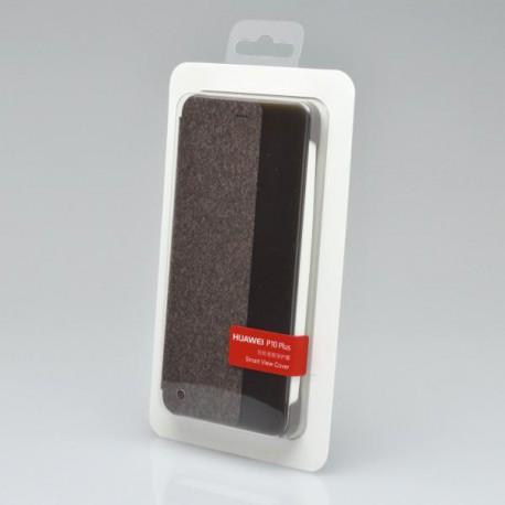 Knižkové, flipové puzdro Huawei P10 Vicky View, hnedé