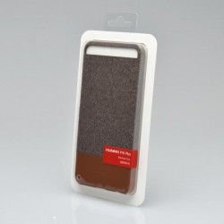 Plastové puzdro Huawei P10 Plus Vicky Mashup, hnedé