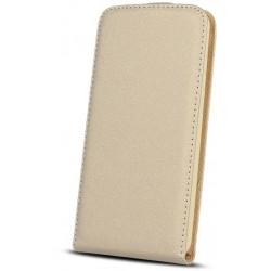 Leather case PLUS New Hua P10 Lite gold