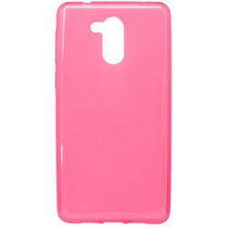 Gumené puzdro Huawei Nova Smart, ružové, nelepivé