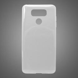 Gumené puzdro LG G6, priehľadné, nelepivé