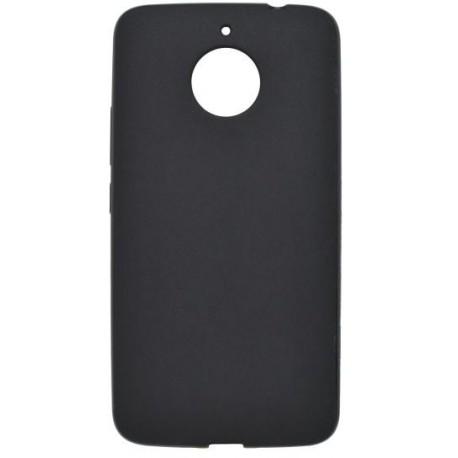 Gumené puzdro Pudding Moto E4 Plus, čierne