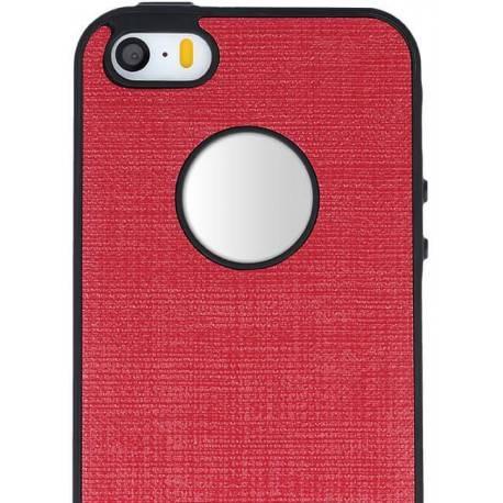 Cloth TPU Case for Sam S8 red
