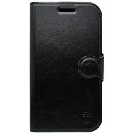 Bočné knižkové puzdro Moto C čierne