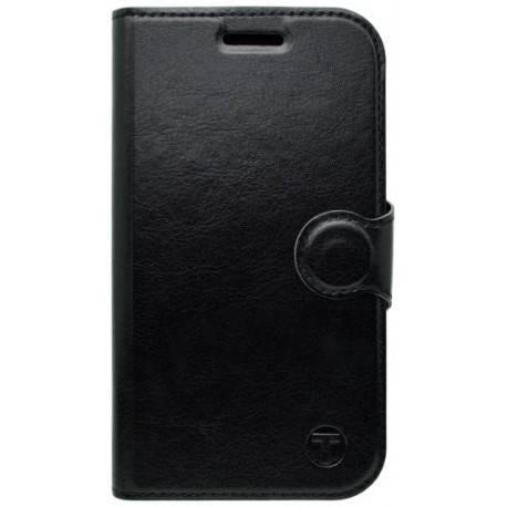 Bočné knižkové puzdro Moto C Plus čierne