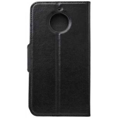 Bočné knižkové puzdro Moto E4 Plus čierne