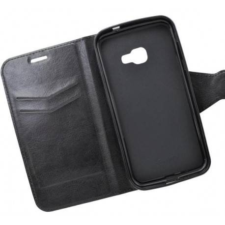 Bočné knižkové puzdro Samsung Galaxy Xcover 4 čierne