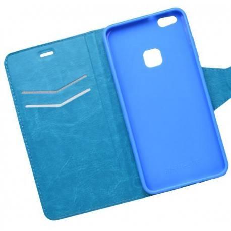 Bočné knižkové puzdro Huawei P10 Lite modré
