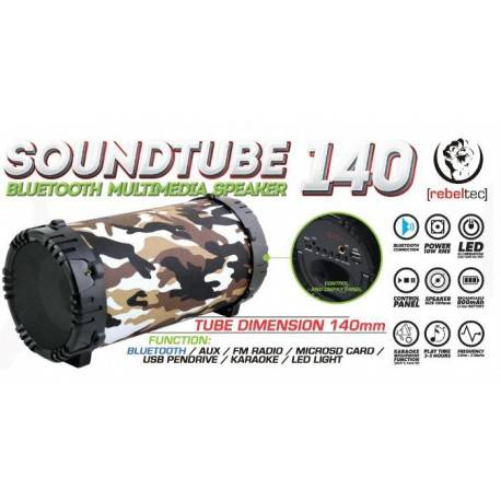 REBELTEC Speaker SoundTube 140 moro