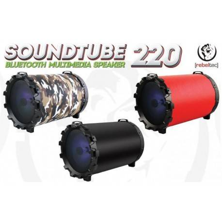 REBELTEC Speaker SoundTube 220 black