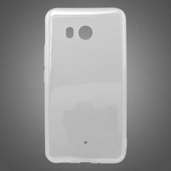 Gumené puzdro HTC U11 priehľadné nelepivé